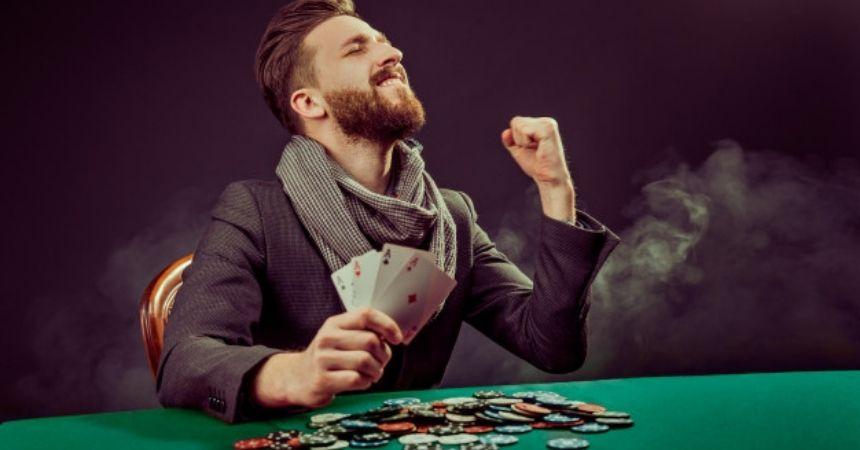 pocker player